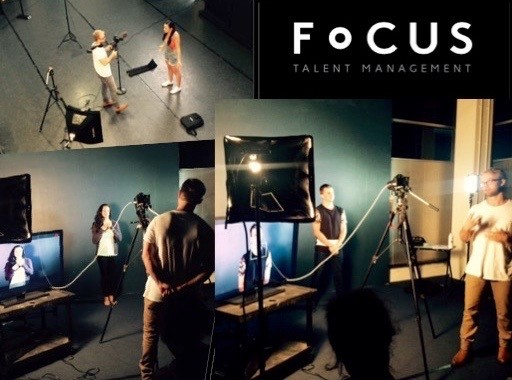 Josh Anderson hosts a Casting Technique Workshop for Focus Talent Management actors
